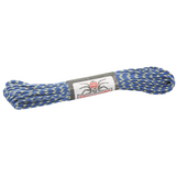 Spider Cord 600 Lb Paracord 100 Ft - Navy Blue And Highlighter Yellow Design