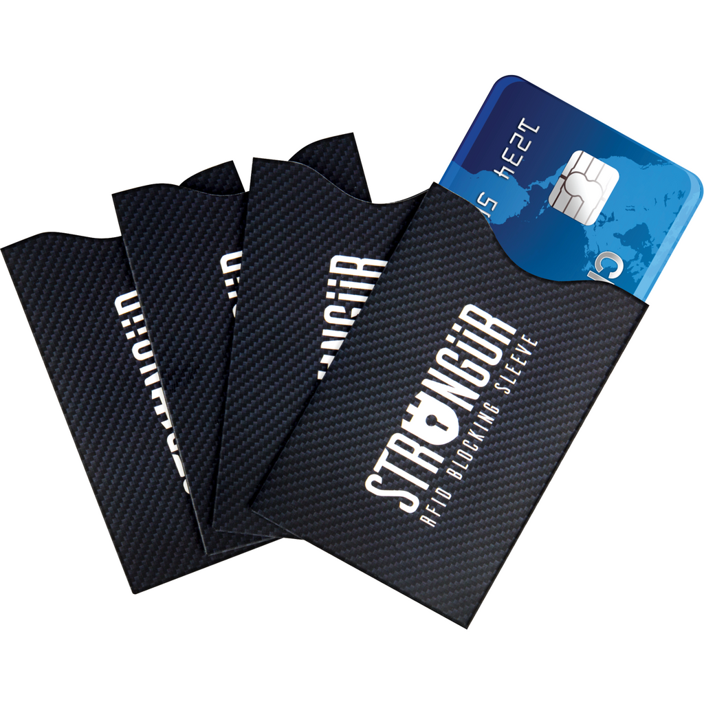 Survival Life Store | Strongür - Rfid Credit Card Sleeve - 4 Pack