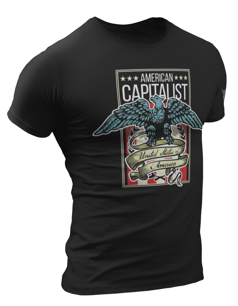 Survival Life Store | American Capitalist T-Shirt