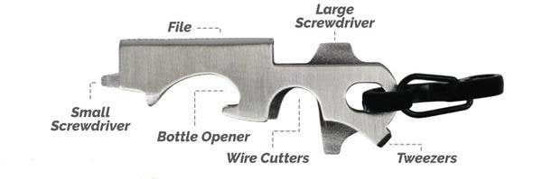 Survival Life Store | 8 in 1 KEY GADGET CAN OPENER