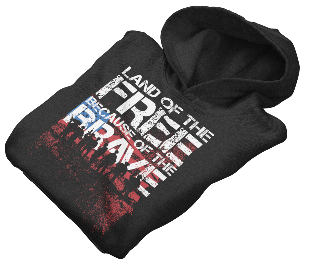 Survival Life Store | Land of the Free Hoodie