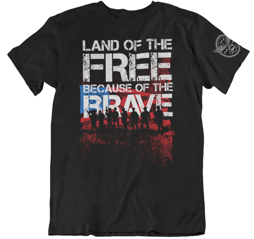 Survival Life Store | Land of the Free T-Shirt