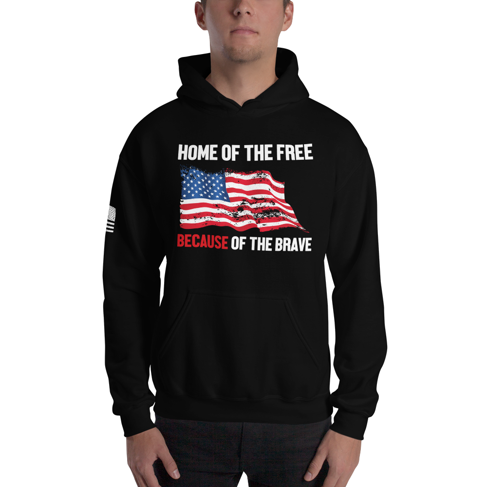 Survival Life Store | Home of the Brave Hoodie
