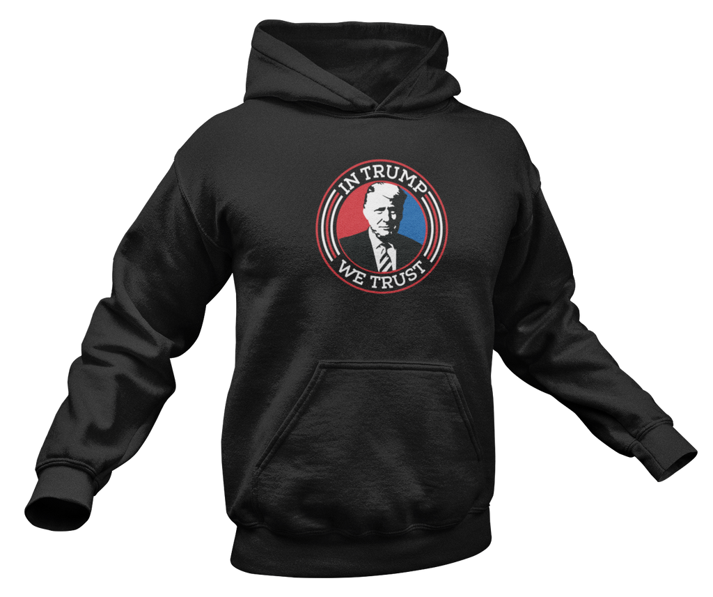 Survival Life Store | In Trump We Trust Hoodie