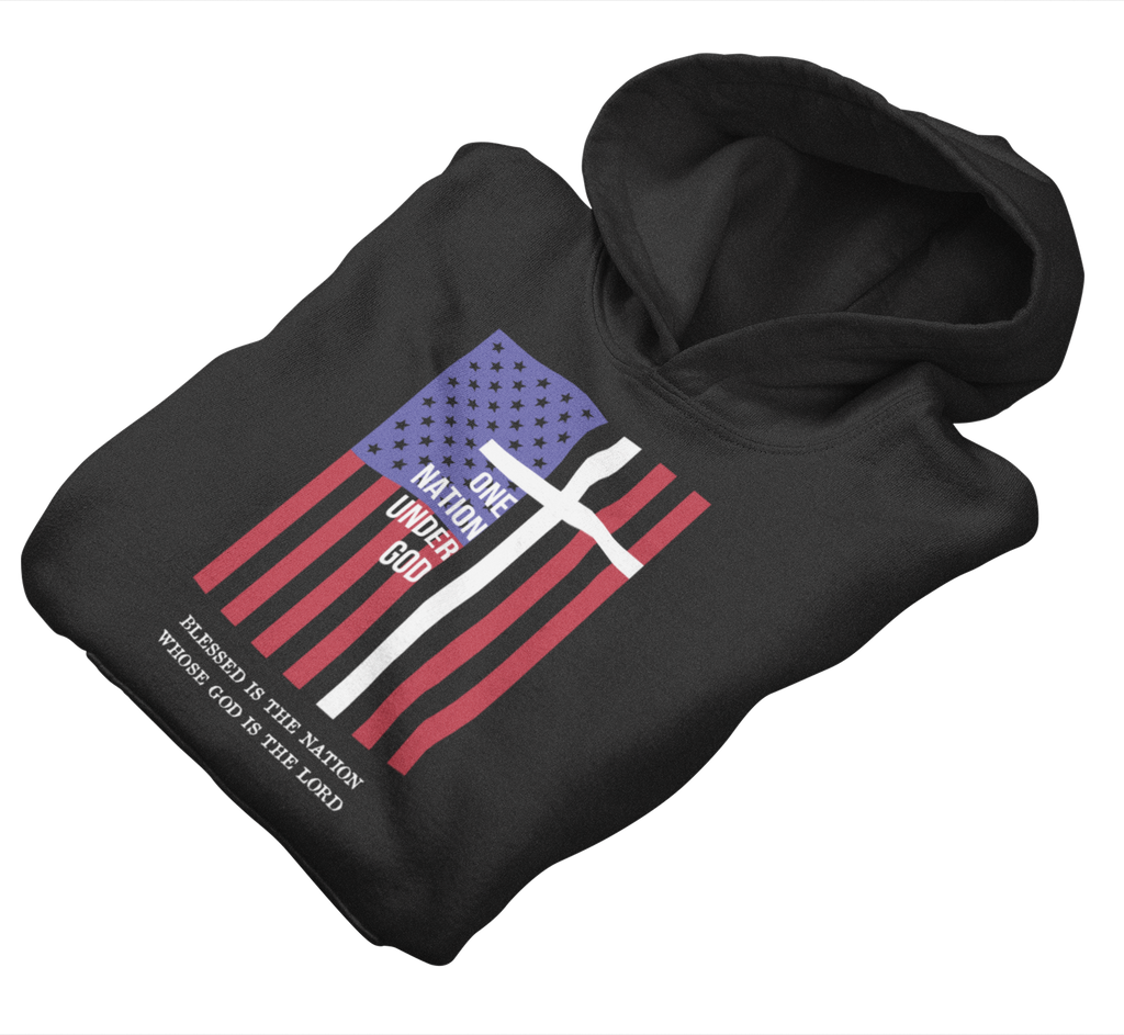Survival Life Store | One Nation Under God Hoodie