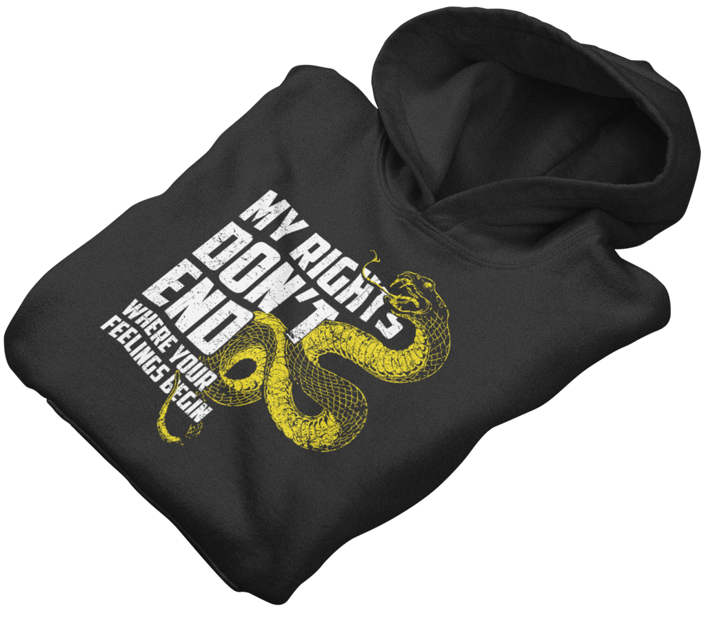 Survival Life Store | My Rights Don't End Where Your Feelings Begin Hoodie