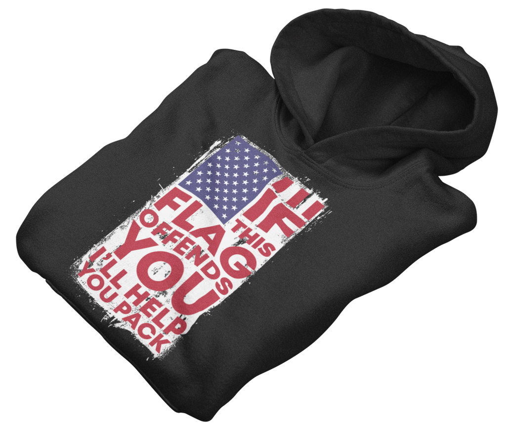 Survival Life Store | If This Flag Offends You Hoodie
