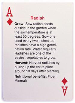 Survival Life Store | Survival Seeds Playing Cards