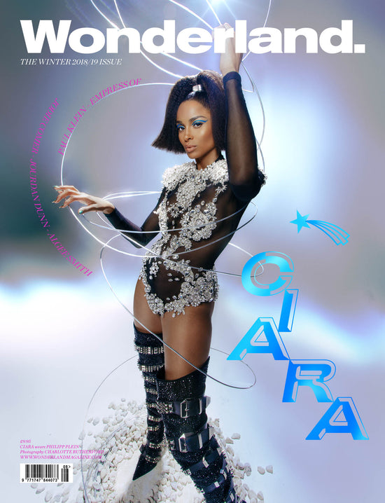 winter 2018 issue cover star reveal ciara wonderland magazine