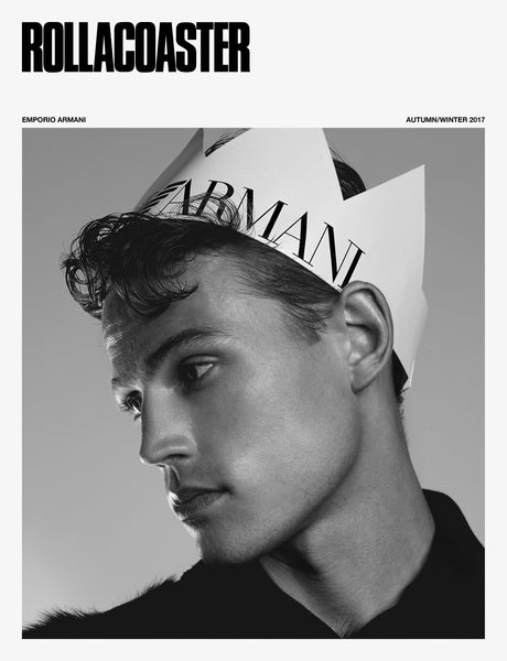 ROLLACOASTER Autumn/Winter 2017 Issue - ARMANI COVER