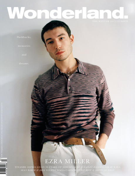 WONDERLAND Winter 2017 Issue - EZRA MILLER COVER II