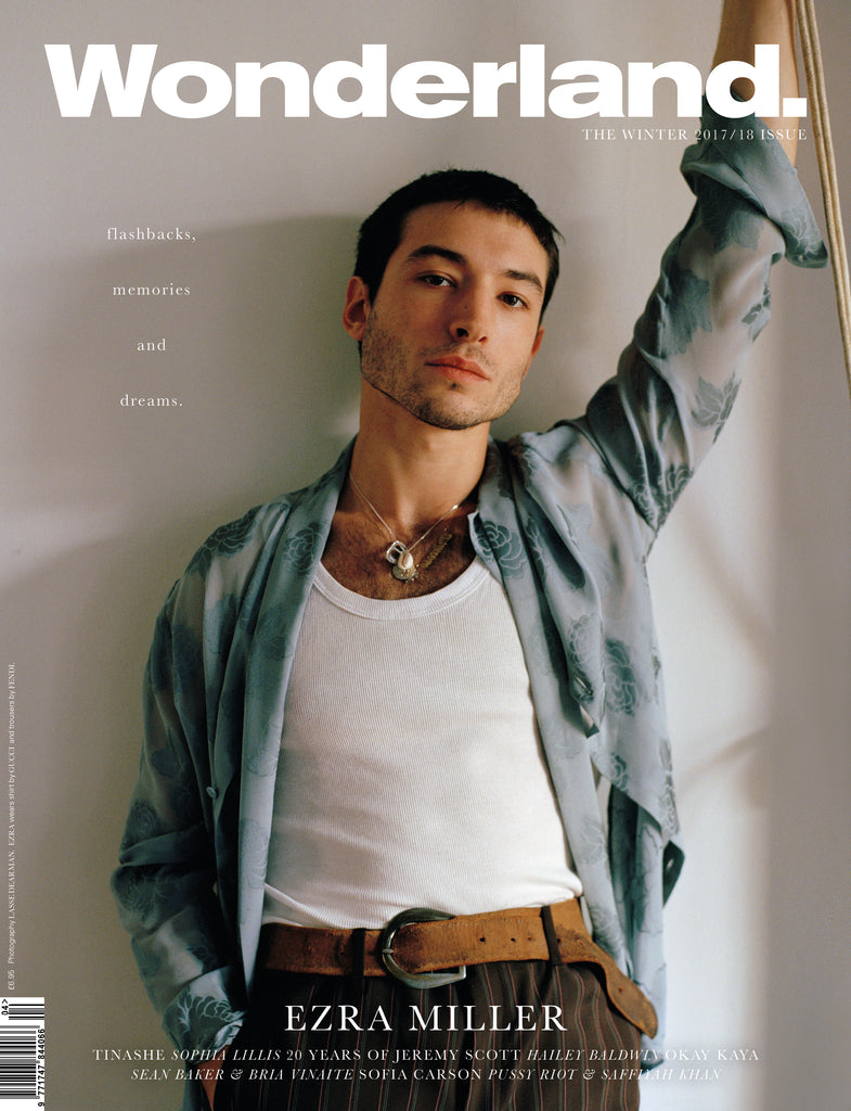 WONDERLAND Winter 2017 Issue - EZRA MILLER COVER
