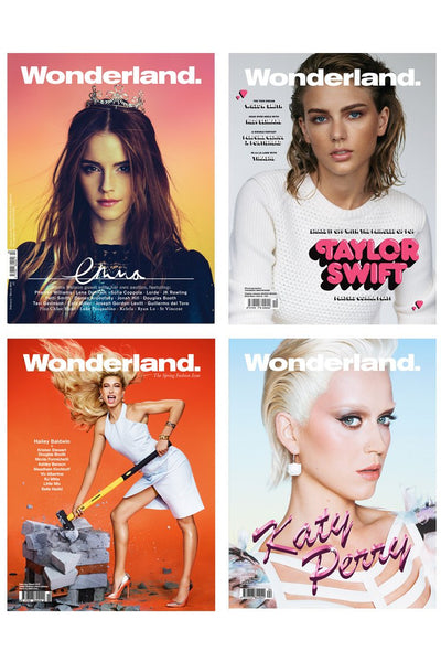 Wonderland - Limited Edition Issues