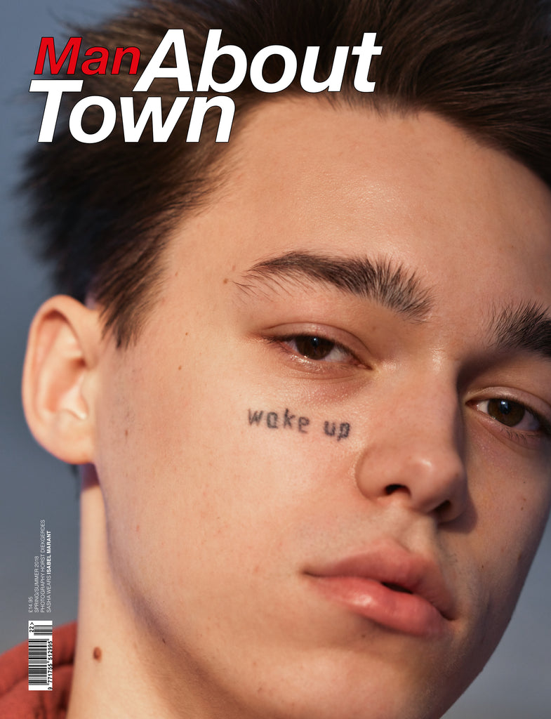 **PRE-ORDER** MAN ABOUT TOWN MAGAZINE SS18 SASHA COVER