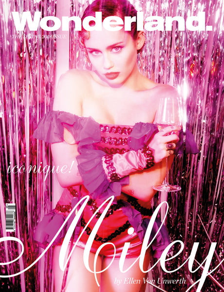 WONDERLAND Spring 2018 Issue - MILEY