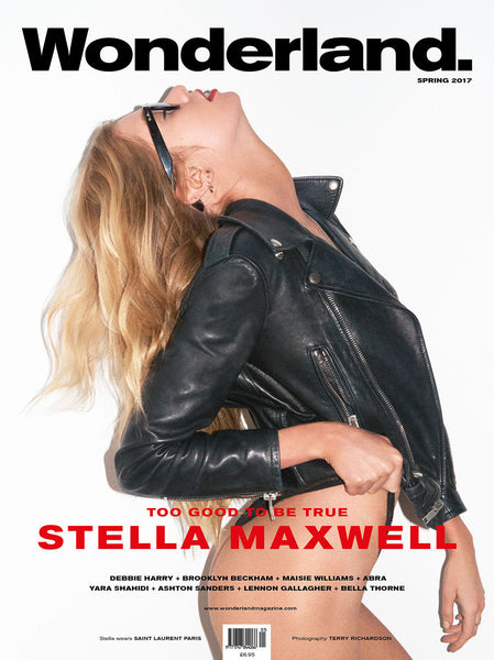 WONDERLAND Spring 2017 Issue - Stella Maxwell