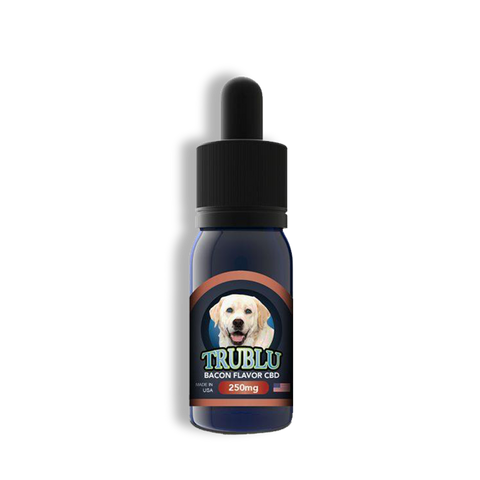 250mg Tru Blu Bacon CBD K9 Tincture 30ml - Blue Moon Hemp