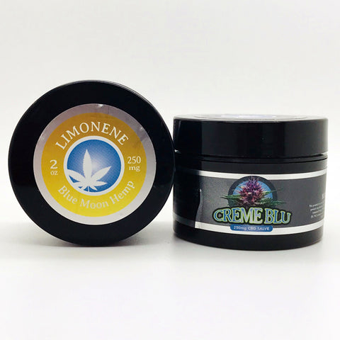 250mg Limonene CBD Salve 2oz Jar - Blue Moon Hemp