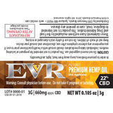 660mg 22% Premium Hemp Oil Airless Metered Pen 3ml - EVR™ CBD