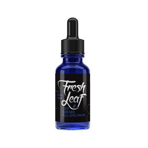 500MG Full Spectrum CBD Tincture 30ml - FreshLeaf CBD