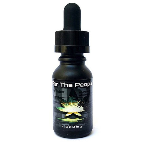800mg CBD Raw Peppermint Tincture 30ml - CBD For The People
