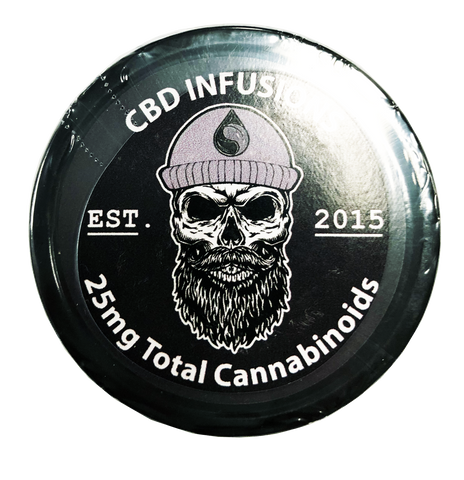 25mg CBD Beard Balm 4oz Jar - CBD Infusions