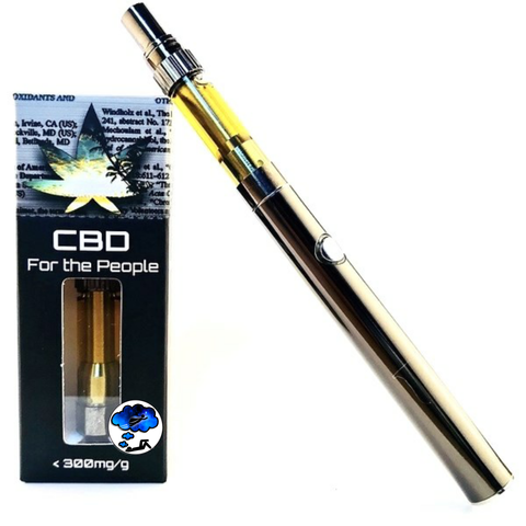1,000mg @ 30% CBD Blue Dream (Sativa) Vape Starter Kit - CBD for the People