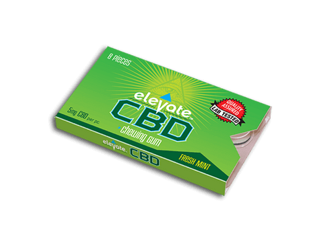 5mg CBD Elevate Gum (8 Boxes/Case) - Blue Moon Hemp