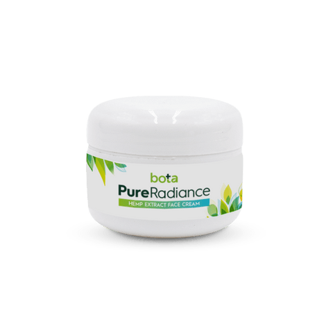 500mg Pure Radiance Topical CBD Face Cream 1oz Jar - Bota Hemp
