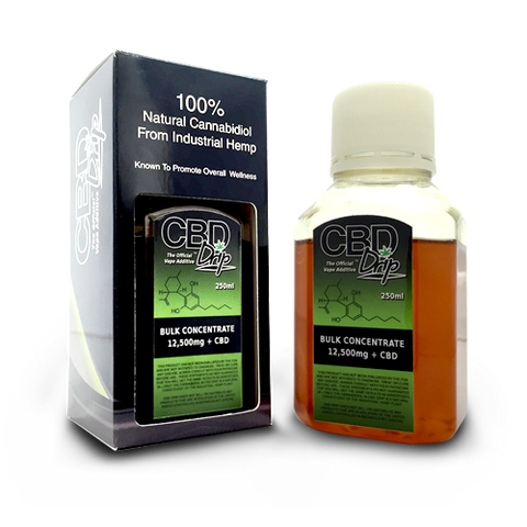 12500mg Bulk Concentrate CBD Vape/Drip 250ml Bottle - CBD Drip