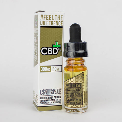 300mg CBD Oil Vape Additive 10ml - CBDfx