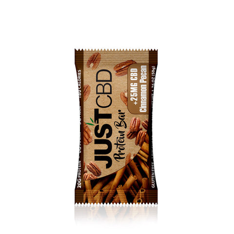 25mg CBD Protein Bar (BOX OF 12) - JustCBD