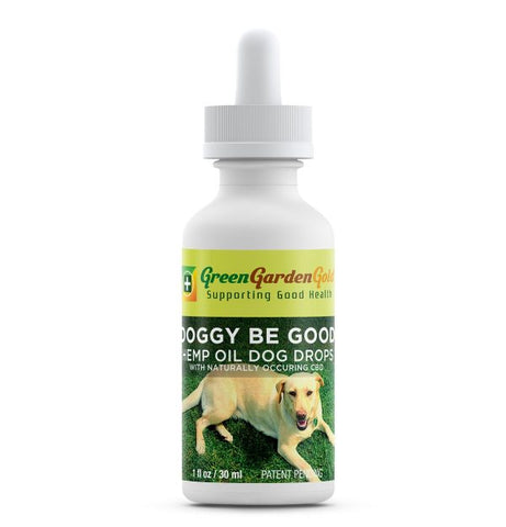 180mg Doggy Be Good Hemp Oil Drops 30ml - Green Garden Gold