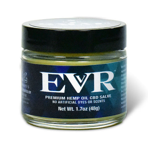 500mg Premium Hemp Oil CBD Salve 1.7oz - EVR™ CBD