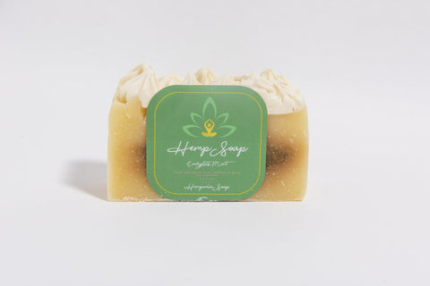 Eucalyptus-Mint Hemp Soap Bar - Hemperia Soap