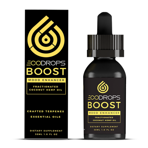 1500mg EcoDrops Boost Full-Spectrum CBD Tincture 30ml - Eco Sciences
