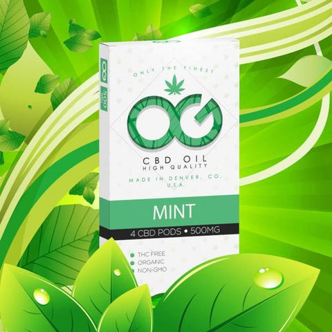 500mg CBD Pods (Mint Flavor) - OG Labs