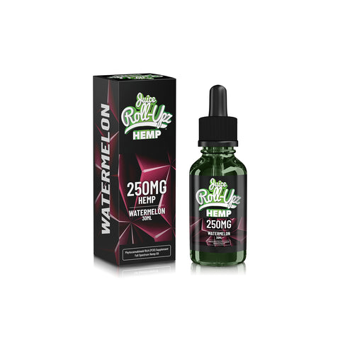250mg Watermelon CBD Vape Juice 30ml - Juice Roll Upz Hemp