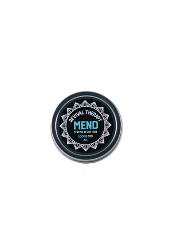 200mg Mend CBD Topical Salve 2oz Jar - Revival CBD