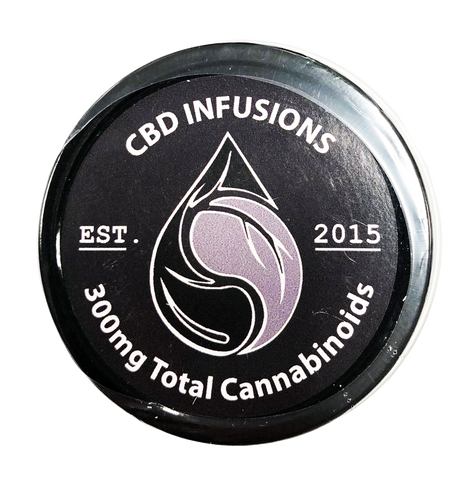 300mg CBD Therapeutic Muscle Rub 4oz Jar - CBD Infusions