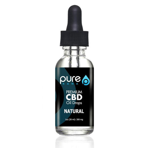 300mg Full Spectrum Natural CBD Oil 30ml - PureKana