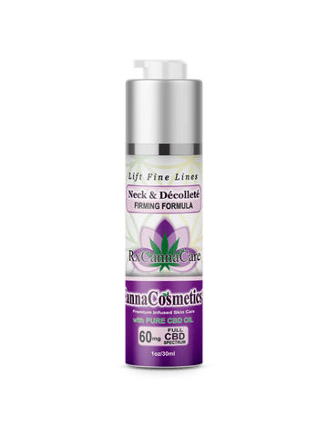 60mg CBD Neck & Décolleté Firming Formula 30ml - RxCannaCare