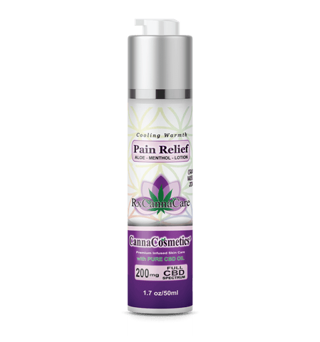 200mg CBD Infused Pain Relief Cream 50ml - RxCannaCare