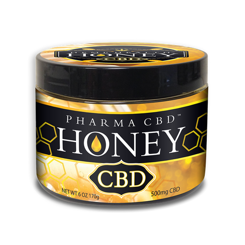 500mg CBD Honey 6oz Jar- Pharma Hemp