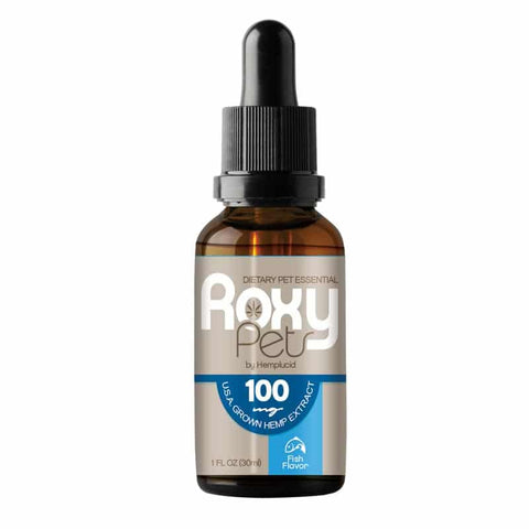 100mg Whole-Plant™ CBD Fish Oil Cat Tincture 30ml - Roxy Pets