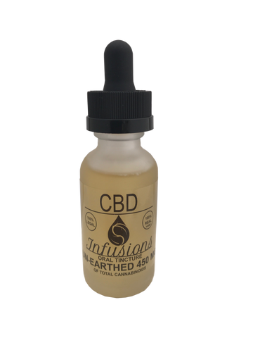 450mg CBD Unearthed Tincture 30ml - CBD Infusions