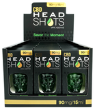 90mg CBD HeadShots 12Pk Vape Additive/Tincture 15ml  - Fusion Brands