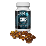 25mg Concentrated CBD Softgel Capsules 30ct - PureKana