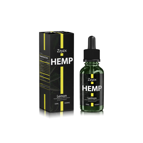 500mg Lemon CBD Tincture 30ml - ZZyzx Hemp
