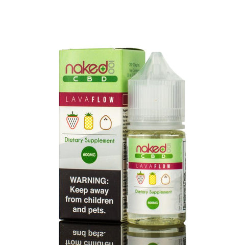 600mg Lava Flow CBD - Naked 100 CBD